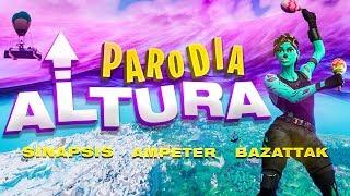 """ALTURA"" Soltera Remix | PARODIA FORTNITE BATTLE ROYALE"