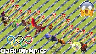 Clash Olympics | Clash of Clans Olympics | COC Olympics
