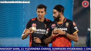 IPL 2020: 3rd Match RCB vs SRH Live | Sunrisers Hyderabad vs Royal Challengers Bangalore Live