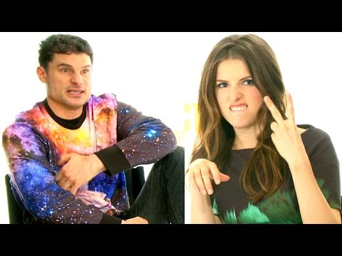 FLIPPING OFF THE PITCH PERFECT 2 CAST w/ Anna Kendrick, Rebel Wilson, Hailee Steinfeld and Co!