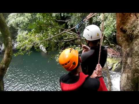 Canyoning Sainte Suzanne Bassin Boeuf REUNION