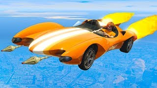 NEW $6,000,000 JUMPING SUPERCAR! (GTA 5 DLC)