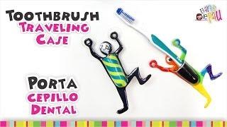 Toothbrush holder Polymer Clay Tutorial / Porta cepillo dental de Arcilla Polimérica Thumbnail