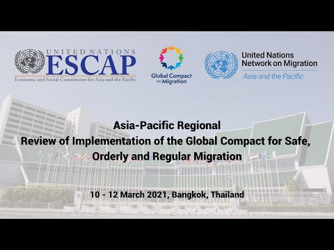 Asia-Pacific Regional Review of Implementation of the Global Compact for Migration