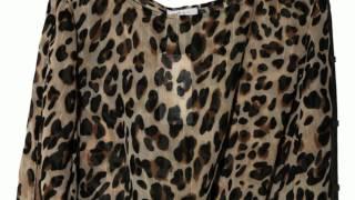 видео Леопардовые блузки: фото, с чем носить стильные модели