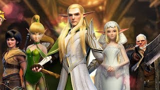 Throne Of Elves 3d Anime Action Mmorpg Android Gameplay Vloggest