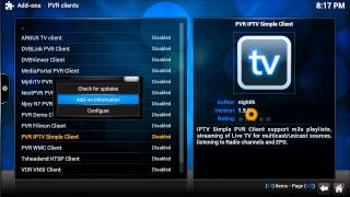 Brand New PVR IPTV SImple Client link  for XBMC KODI 2015 ( Feb 2015 Link)