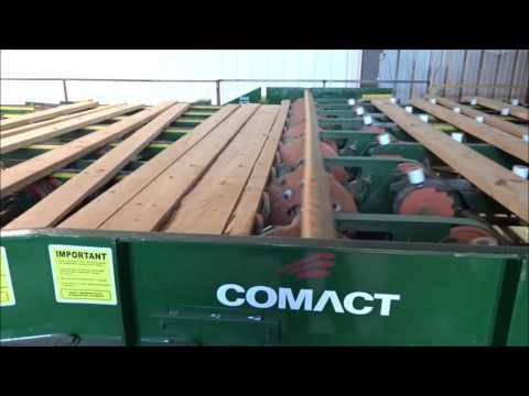 Comact Sawmill Trim & Sort Line In SYP Sawmill