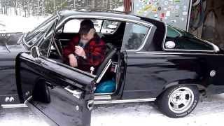 Nu kör jag hem min nye going...Plymouth Barracuda -65