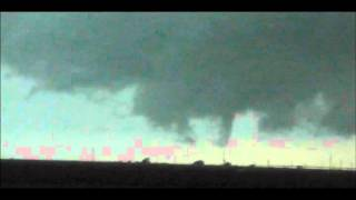October 12, 2012 Tornado Warned Storm Plainview, Texas
