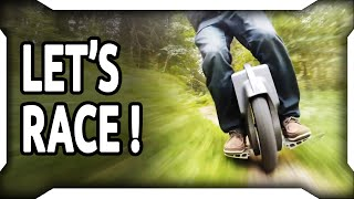 Fastest electric unicycle Off-Road Trail #1 Gotway MSuper HS Wheelz with crash