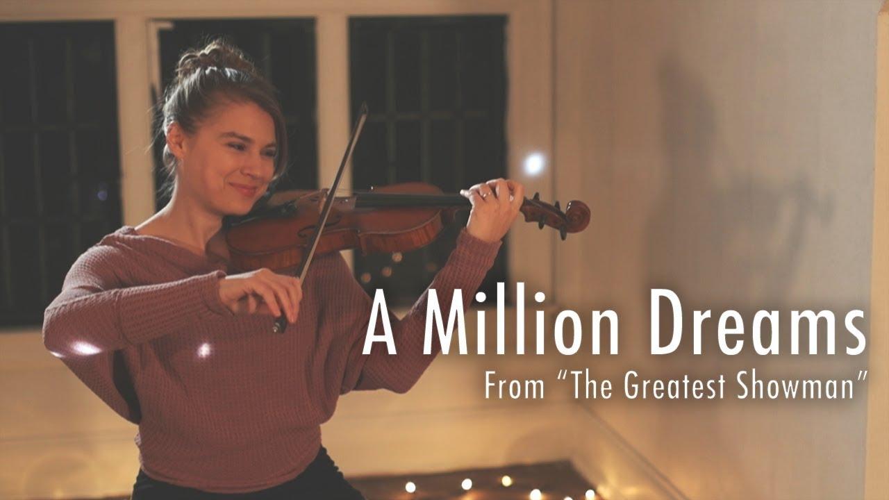 A Million Dreams - The Greatest Showman (Violin Cover) Taylor Davis