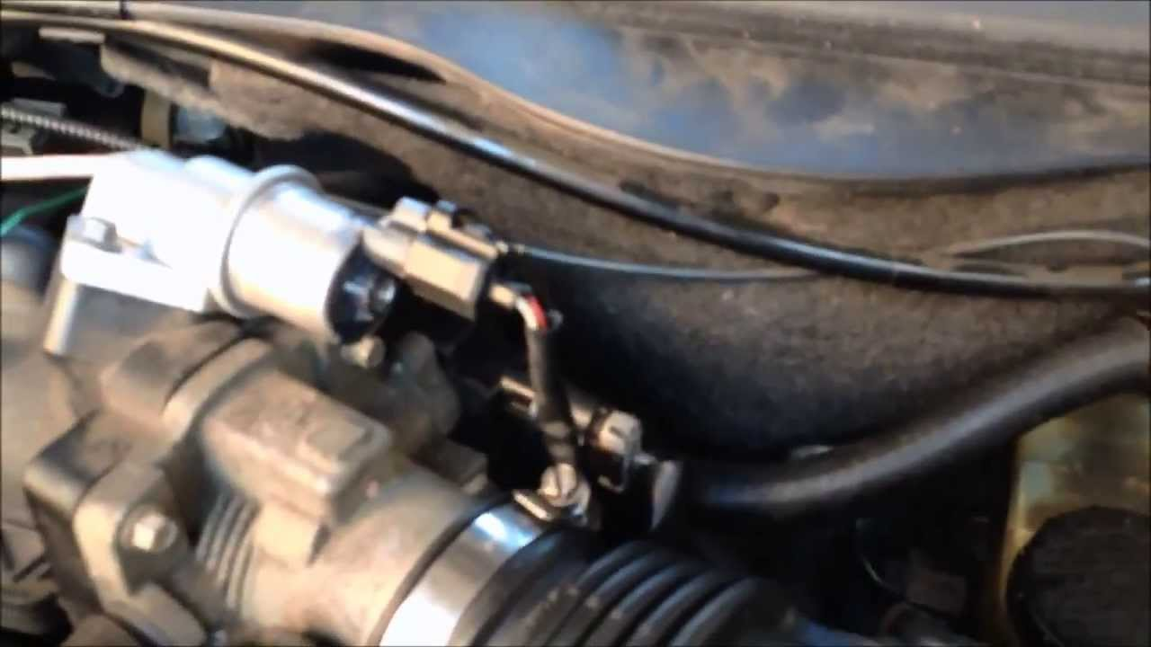 2003 Ford Escape Exhaust System Diagram 1975 Ct90 Wiring Fixing Idling Problem Throttle Position Sensor Replacement 2001 Taurus - Youtube