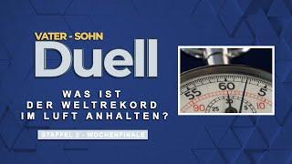 Vater Sohn Duell   Was ist der Weltrekord im Luft anhalten ?   S2F12