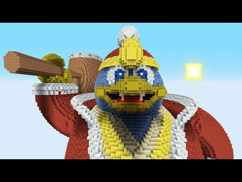 Super Smash Bros. Ultimate vs. Minecraft - (King Dedede) thumbnail