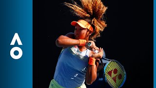 Naomi Osaka v Elena Vesnina match highlights (2R) | Australian Open 2018