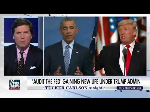 Rand Paul talks Audit the Fed bill on Tucker Carlson