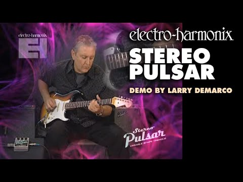 Stereo Pulsar - Demo by Larry DeMarco - Variable Shape Analog Tremolo