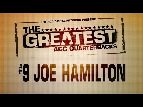 The Greatest - ACC QBs | #9 - Joe Hamilton | ACCDigitalNetwork