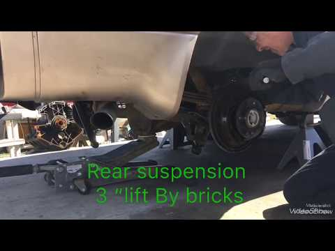 1999 Chevy Astro AWD Front And Rear Suspension Lift