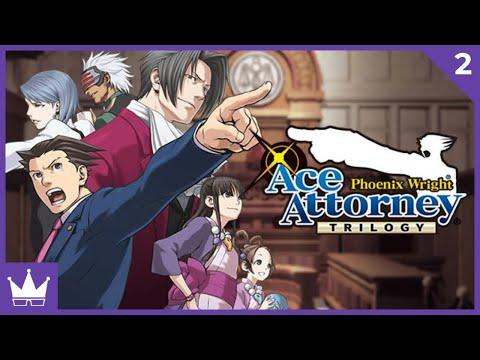 Twitch Livestream | Phoenix Wright: Ace Attorney Part 2 [Xbox One]