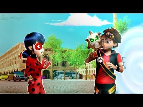 Miraculous Ladybug: Speededit: (Crossover!) Ladybug Meets Zak Storm!