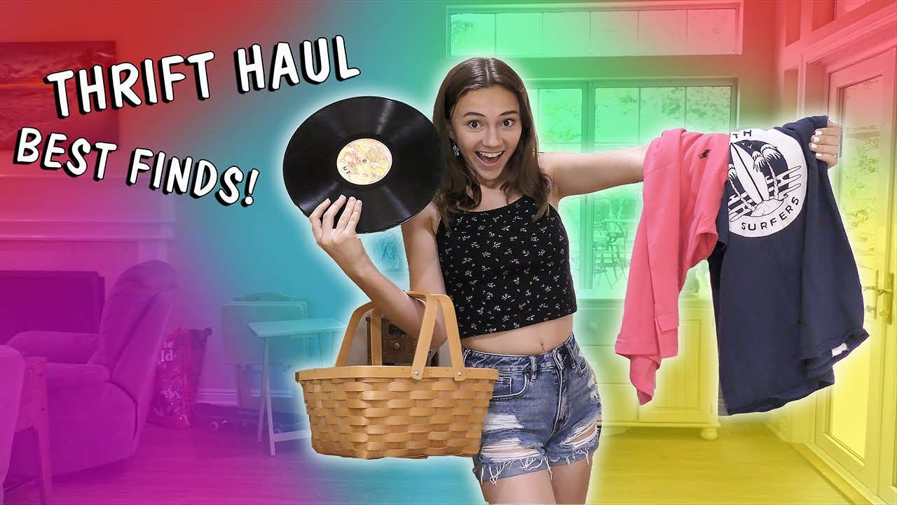 MY BEST FINDS THRIFT HAUL! | Kayla Davis