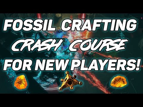 POE - Fossil Crafting Crash Course for Beginners!