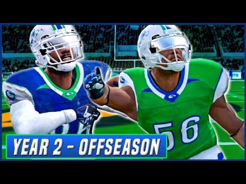 YEAR 2 OFFSEASON LIVESTREAM! - NCAA Football 14 Dynasty   Ep.34