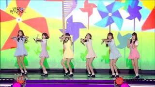 ... gfriend # 069 : 'navillera' @dmz peace concert 20160815 sowon, yerin, eunha, yuju...