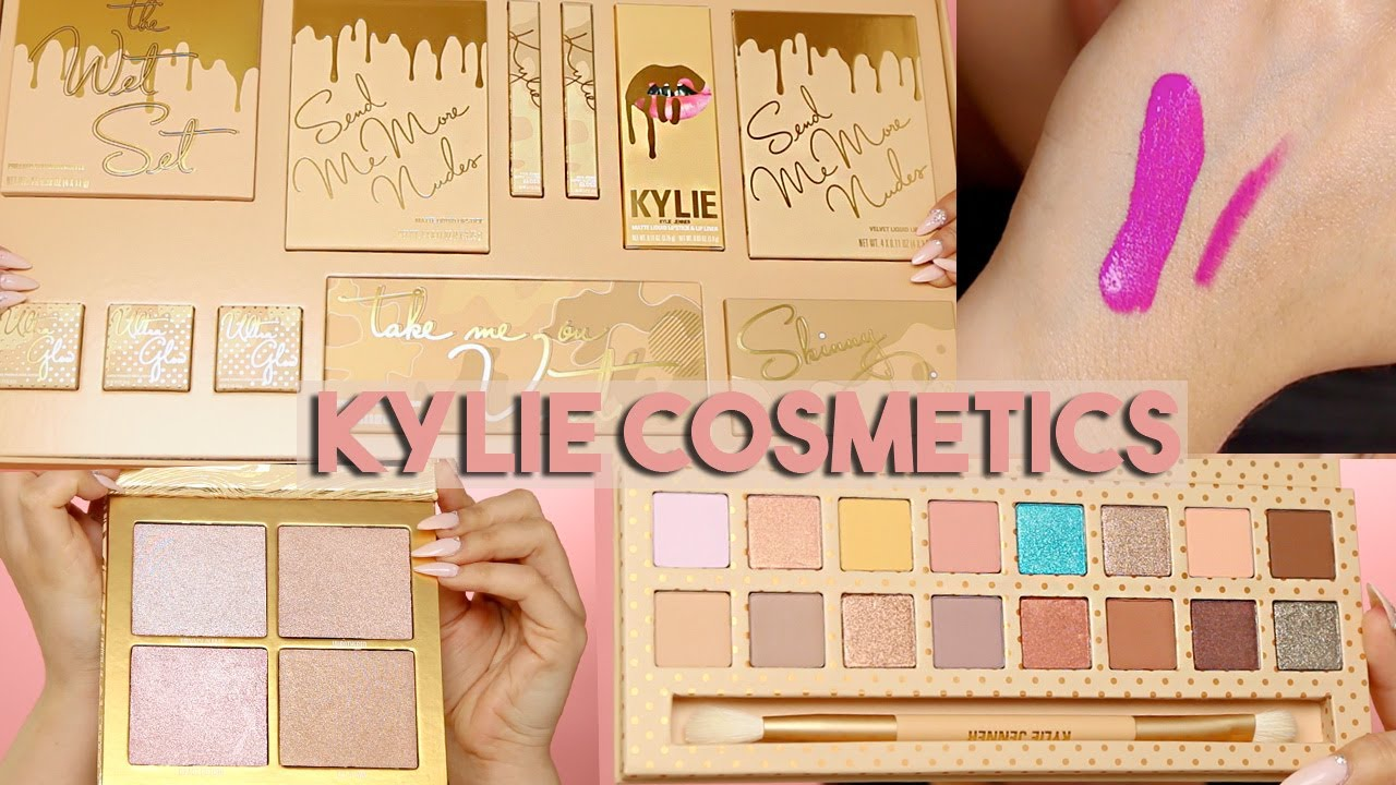 Kylie Cosmetics New Summer Collection Vacation Edition