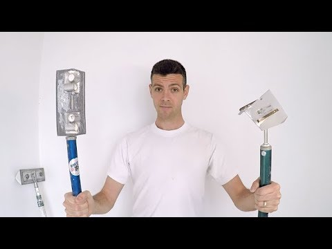DRYWALL CORNER TOOLS!!! (THE BEST DECISION YOU WILL EVER MAKE IN DRYWALL!)