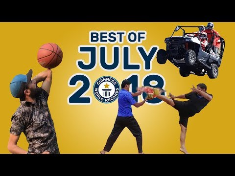 Best of July 2018 – Guinness World Records