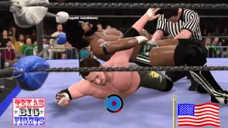 WWE 2k16: Mark Scott Goldman Vs Josh Phoenix