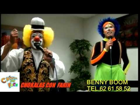 Chokalas con Farin. BENNY BOOM EVOLUTION
