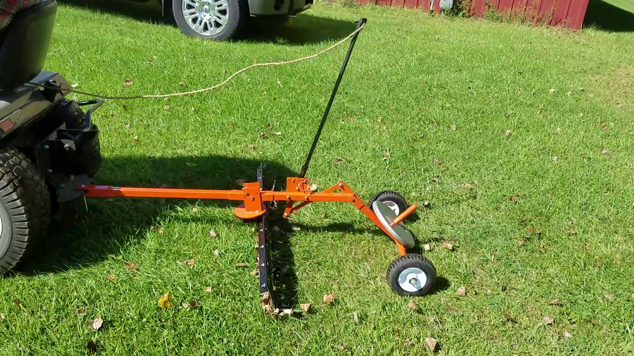 Leaf And Stick Rake For Ride On Lawn Mower | Home design ideas