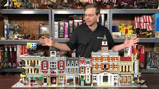 Lego Modular History - Fire Brigade to Palace Cinema, the Golden Age