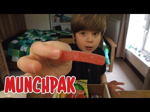 UNBOXING Munchpak - NOM NOM!!