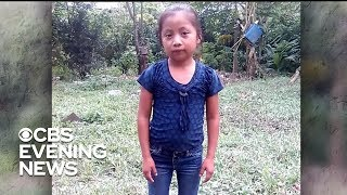 Protesters demand answers after migrant girl's death