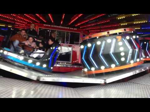 William Clarks waltzer nuns moor mini hoppings 2017 off ride