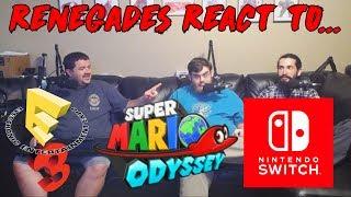 Renegades React to... Super Mario Odyssey E3 2017 Trailer