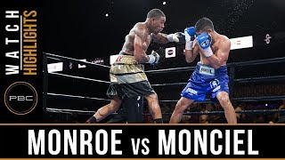 Monroe vs Maciel Highlights: August 24, 2018 - PBC on FS1