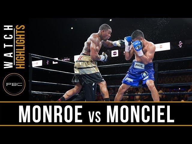 Monroe vs Maciel Highlights: August 24, 2018