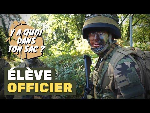 [Y A QUOI DANS TON SAC ?] élève-officier