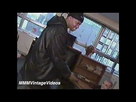 KRS-One visits Group Home in NY (Interview) pt 2-2