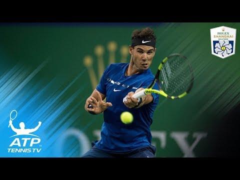 Nadal, Federer win on Shanghai return | Shanghai Rolex Masters 2017 Day 3
