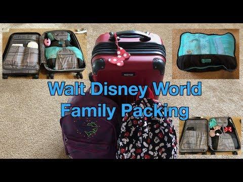 Walt Disney World Family Packing Tips