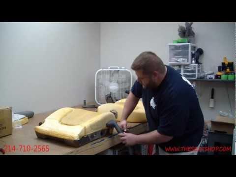 Restoring your foam cushion using a steamer
