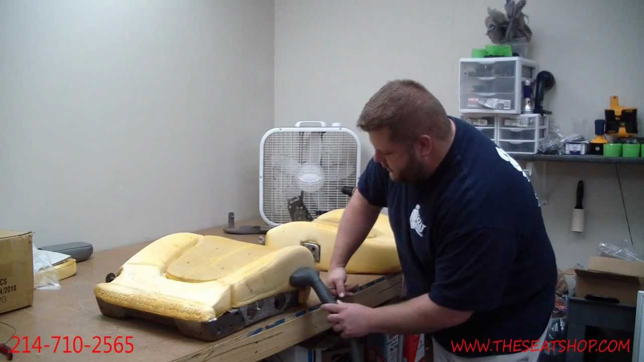 Restoring your foam cushion using a steamer youtube solutioingenieria Image collections