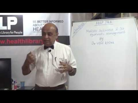 Multiple Sclerosis and Its Ayurvedic Management By Dr. Vipul Khira HELP Talks Video